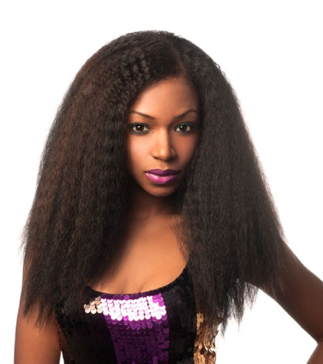 BOHEMIAN COCO - SLEEK NOBLE GOLD SYNTHETIC HAIR WEAVE 14